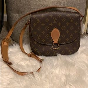 Vintage Louis Vuitton Saint Cloud GM Crossbody